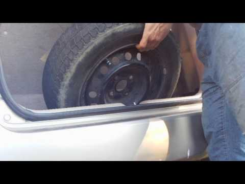 увеличить багажное отделение для колеса