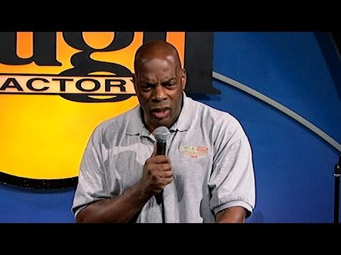 Alonzo Bodden - The  Winter Olympics (Stand Up Comedy)