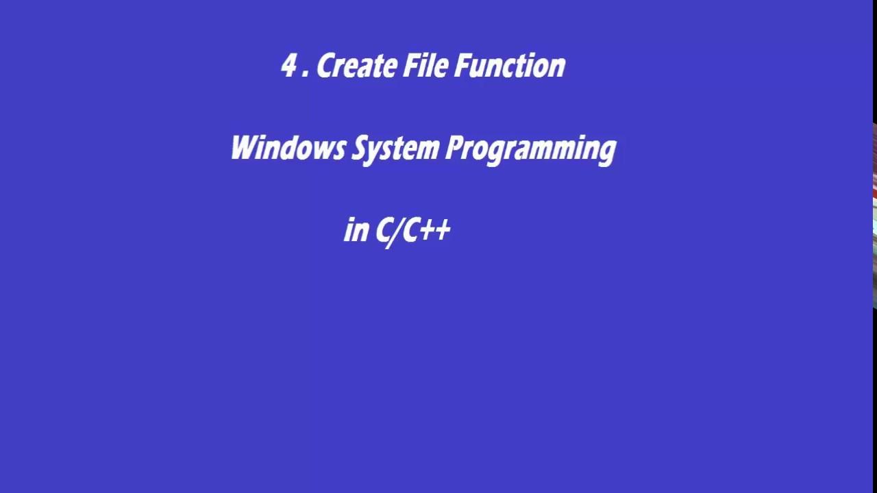 C CREATEFILE DRIVERS FOR PC