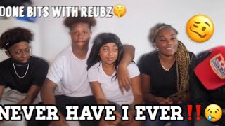 """""""DID I DO BITS WITH REUBZ?"""" NEVER HAVE I EVER😳 ft KS Ldn, Reubz4k, Ronzo & Raeee Babe❤️"""