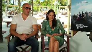 Vin Diesel and Michelle Rodriguez Interview