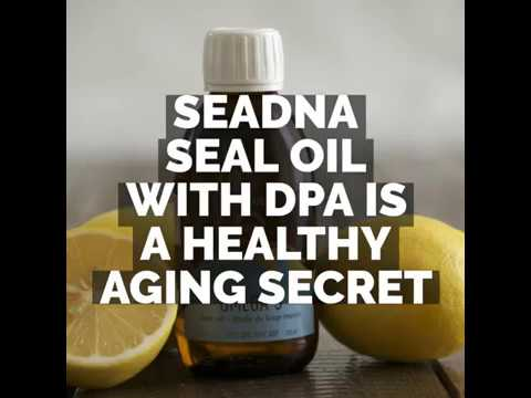 SeaDNA Omega-3 Seal Oil: A Healthy Aging Secret