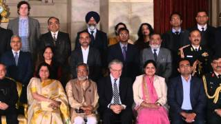 Open Innovation Roundtable with President of India