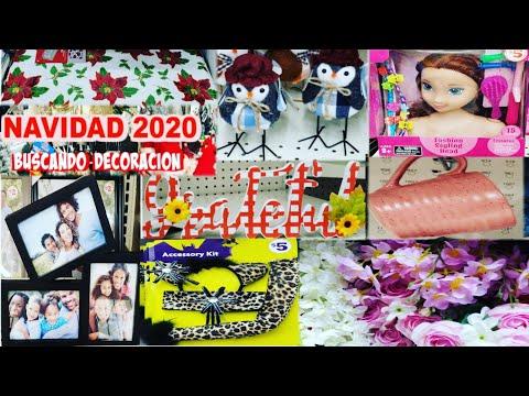 FAMILY DOLLAR  Y LA 99 CENTAVOS DECOR NAVIDAD 2020