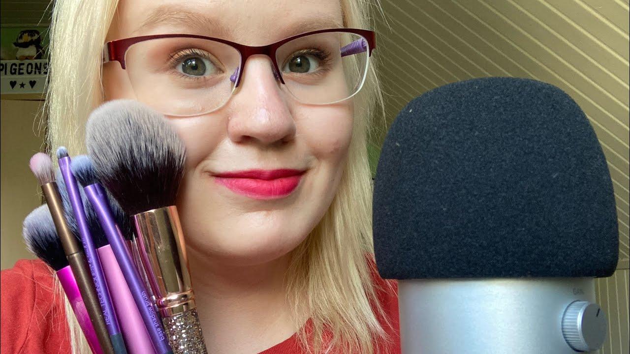 Naputtelen siveltimiä + Face Brushing 💖 ASMR Suomi