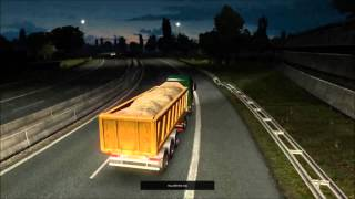 100 Tons Dump Trailer for Multiplayer - Going from Rotterdam (NL) To Karlskrona (S)