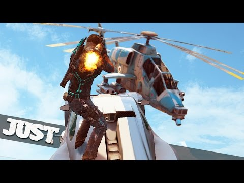 HELICOPTER CAR RPG SNIPING! :: Just Cause 3 Multiplayer Funny Moments!
