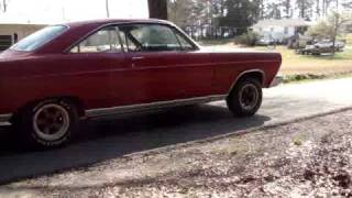 1966 Ford Fairlane 390 FE exhaust note.
