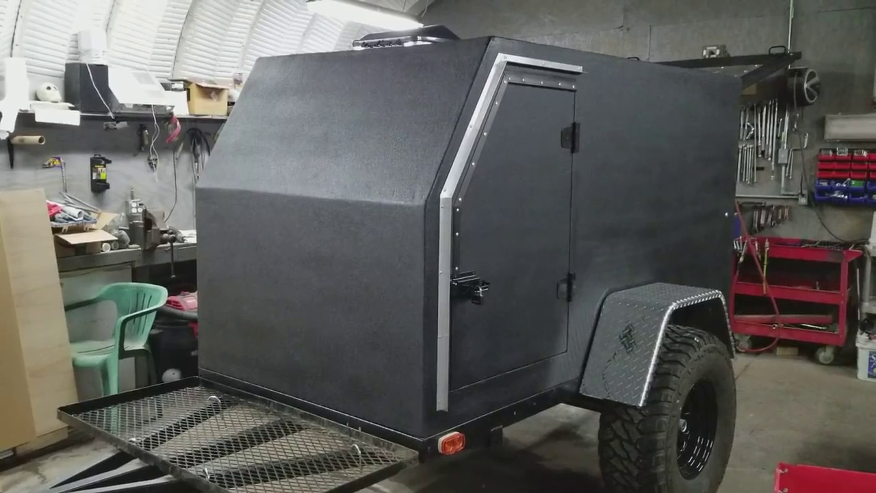 DIY Off-Road Overland Camping Trailer Build COMPLETED