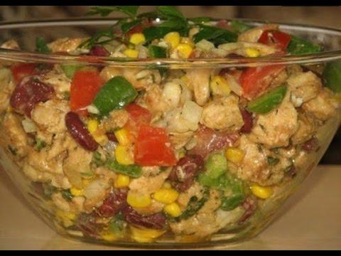 САЛАТ без МАЙОНЕЗА Салат за 5 МИНУТ Вкусный и сытный салат с пекинской капусты Салаты рецепты