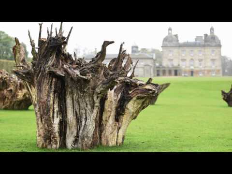 Earth Sky - Richard Long exhibition at Houghton Hall