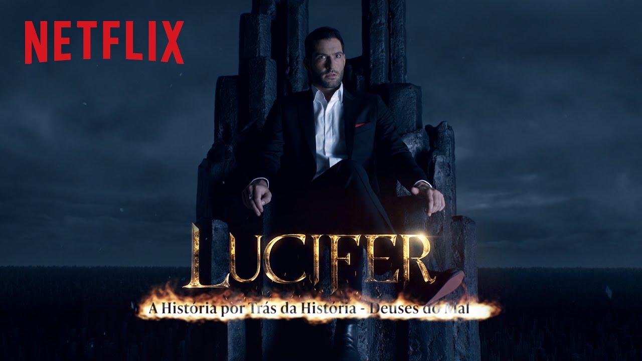 A história por trás da origem de Lucifer | Netflix Brasil