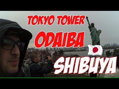 [J-VLOG #3] Tokyo Tower Odaiba et Shibuya (1080p50)