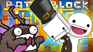 WHAT IS GOING ON? (Tewtiy Teaches Me To Play Random Games... Help Plz) - BATTLEBLOCK THEATER
