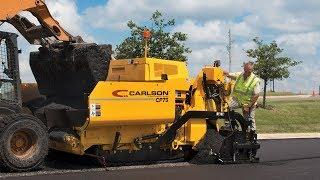 Video still for CARLSON CP75 II Commercial Class Asphalt Paver