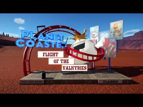 Flight of The Valkyries - Flat Ride Music Classic - Planet Coaster