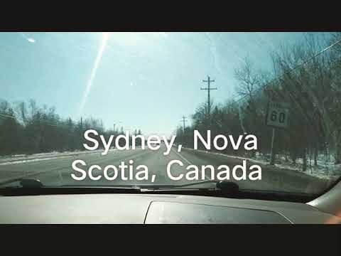 Driving Around Sydney, NS, Canada