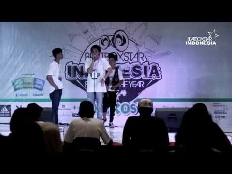 FUNNYMAN (Banjarmasin) VS HAFIZ (Tasik) • TOP 16 • BEATBOXSTAR INDONESIA BATTLE OF THE YEAR 2014