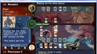 VS. System Marvel Trading Card Game Phat X-Statix/MOE Versus Brotherhood