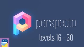 Perspecto: Levels 16 17 18 19 20 21 22 23 24 25 26 27 28 29 30 Walkthrough (Kamil Kucma / Gamezaur)
