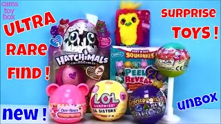 Ultra Rare Series 3 LOL Lil Sisters Care Bears Care Moji Cupcake Cuties Surprise Toys Unboxing Open
