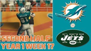 Madden 25: Week 17 - Miami Dolphins vs. New York Jets (2nd Half)