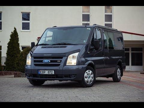 Ford Transit C грузового в груза-пассажир  #sidlux-auto