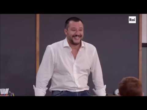 Matteo Salvini e le sigle TV - Alla lavagna! 12/11/2018
