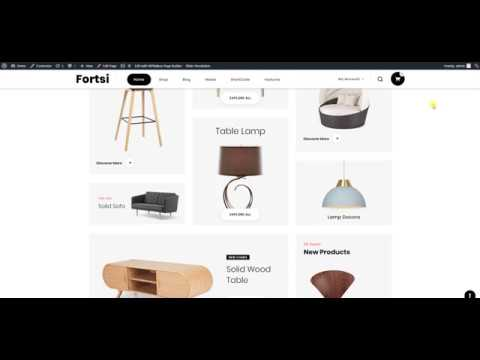 Fortsi WooCommerce  One Click Theme Installation thumbnail