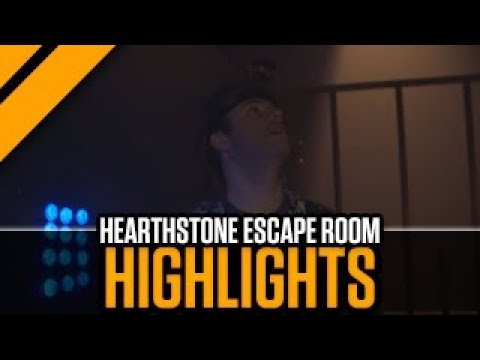 [Hearthstone Highlight] Kobolds & Catacombs Escape Room