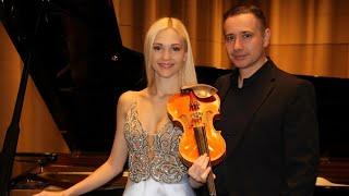 Anastasiya Petryshak and Lorenzo Meo /  W.A. Mozart - Sonata for Violin and Piano K 454