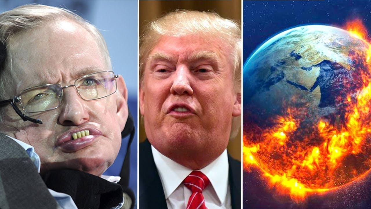 Stephen Hawking rivela cose Allarmanti su Trump e sul nostro Futuro