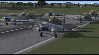 FSX Multiplayer DC-3 Group Flight - Hawaiian Adventure