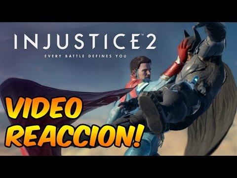 Injustice 2 gameplay - video reaccion