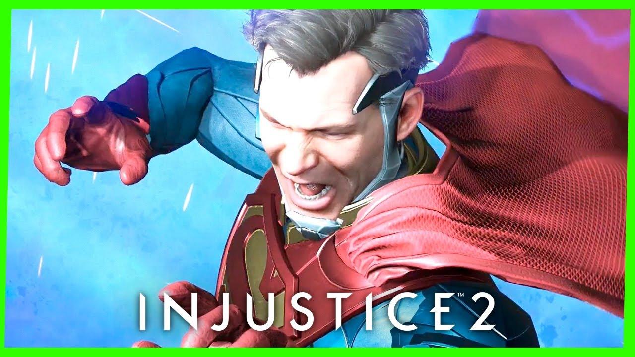 Injustice 2 CAPÍTULO #9 SUPERGIRL - ÚLTIMA ESPERANÇA DE KRYPTON Gameplay Dublado PS4