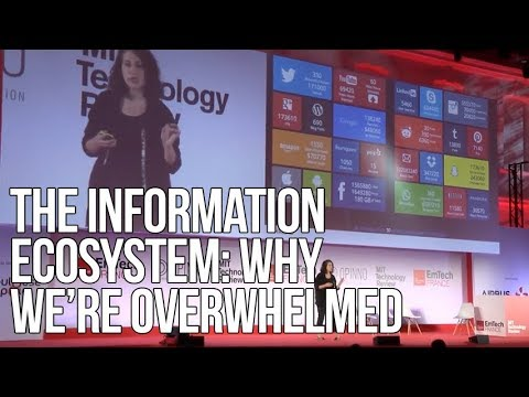 The Information Ecosystem: Why We're Overwhelmed | Rahaf Harfoush