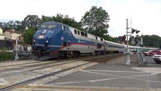 Metro-North Trains at Peekskill and Irvington 7/14/18
