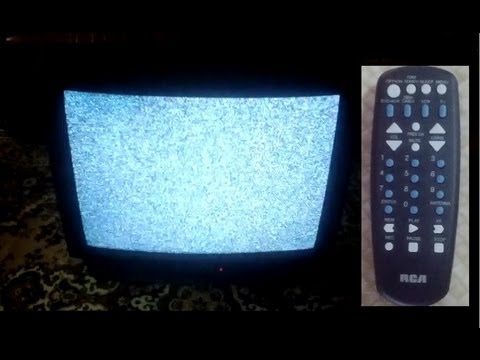Program an RCA Universal Remote RCU 404