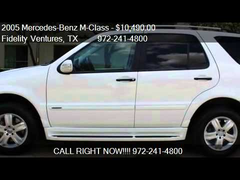 2005 mercedes benz m class ml500 awd 4matic 4dr suv for for 2005 mercedes benz suv for sale