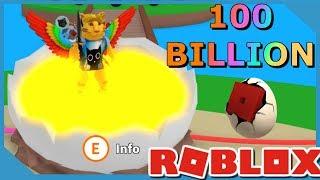 OVER 100 BILLION EGGS! - ROBLOX EGG FARM SIMULATOR