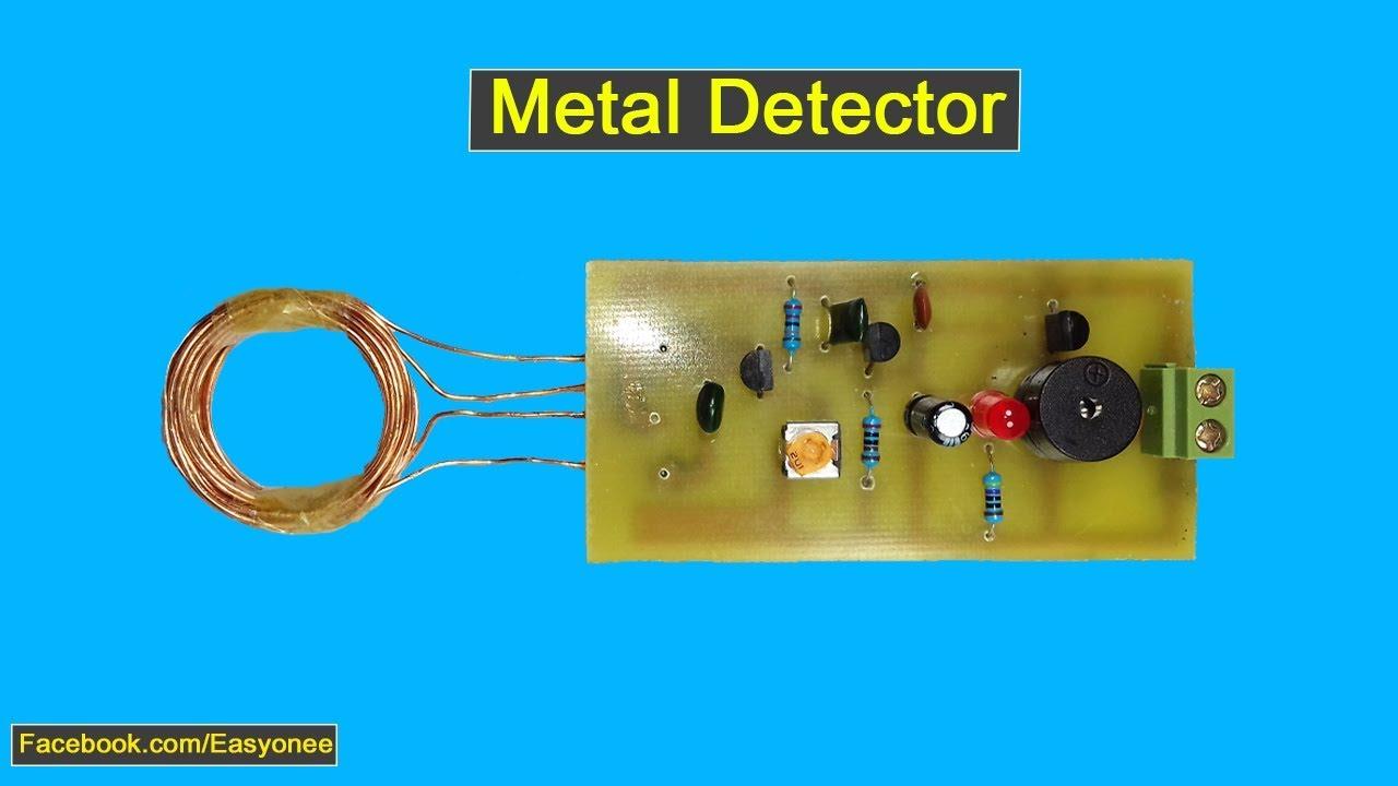 Metal Detector At Home Diy