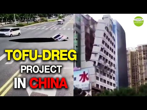 Fragile steel bars/Tofu-dreg project in China/Shaky building/Collapsing buildings/Poor quality