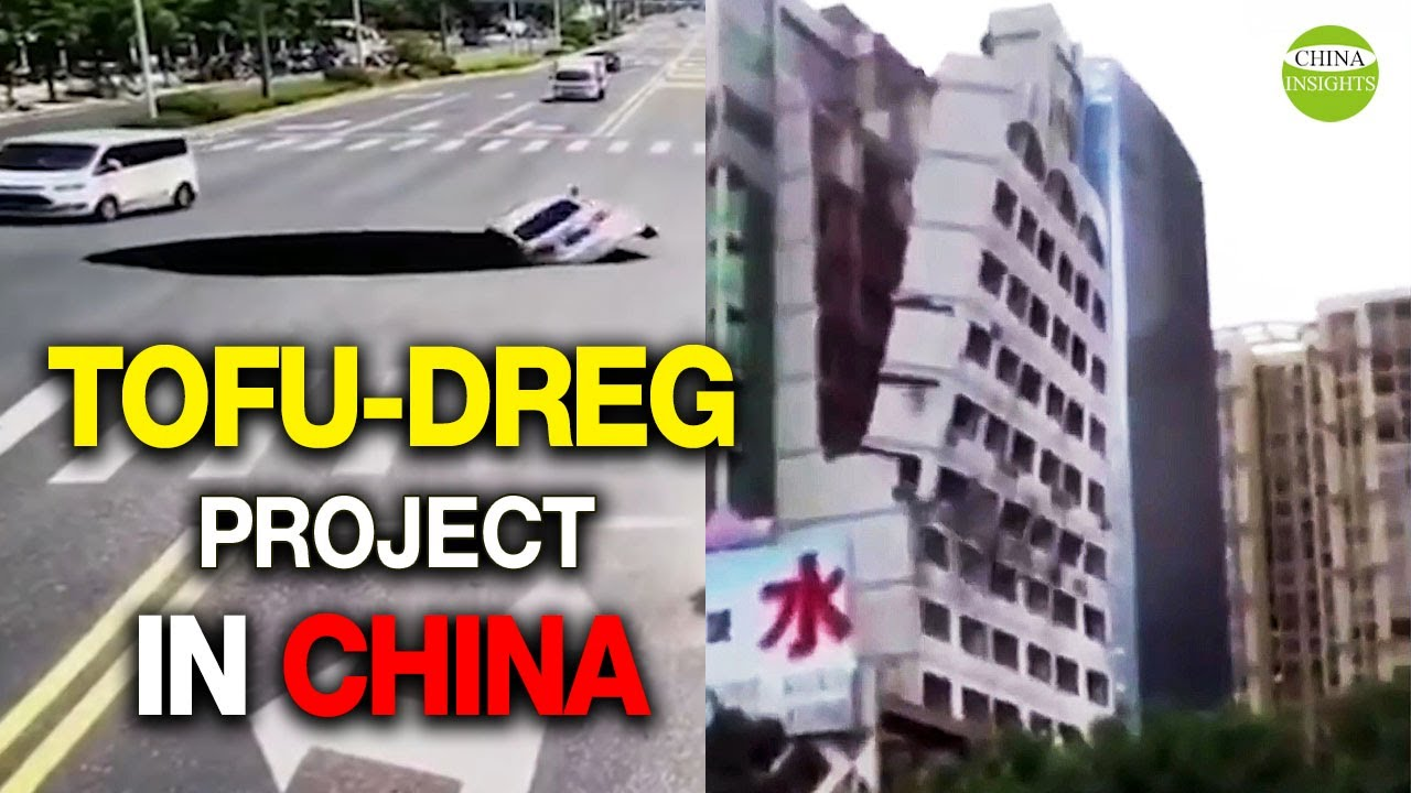 Download Fragile steel bars/Tofu-dreg project in China/Shaky building/Collapsing buildings/Poor quality