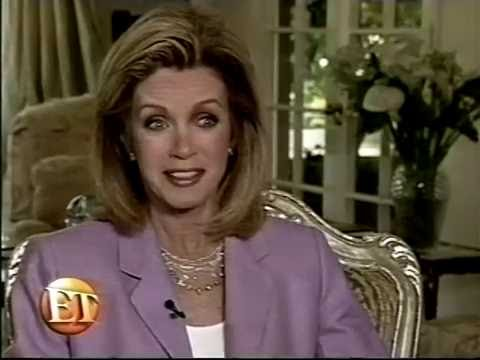 Donna Mills gives a tour of her home in 2001