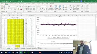 Control Charts   X   R charts Lean Six Sigma the Analysis Phase