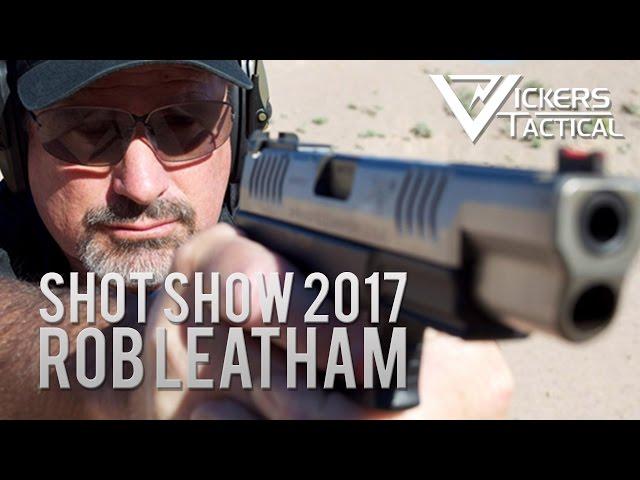SHOW Show 2017: World Champion Rob Leatham talks Springfield Armory