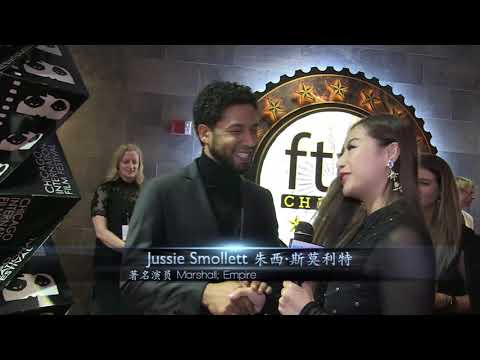 Jussie Smollett, Sterling K. Brown,  Chadwick Boseman, on sexual assault and actor advice 红地毯专访