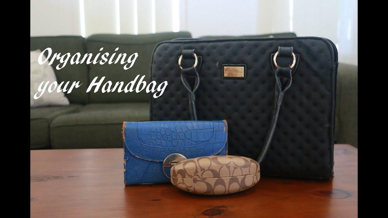 How To Organise Your Handbag