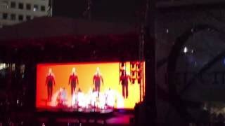Kraftwerk 3-D Live Part 1 (Intro) - The Robots @ Movement Festival Detroit 2016 [1080P]