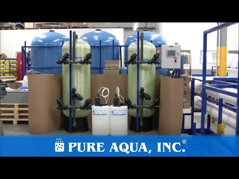 Media Filtration Systems Oman, 40,000 GPD | www.PureAqua.com